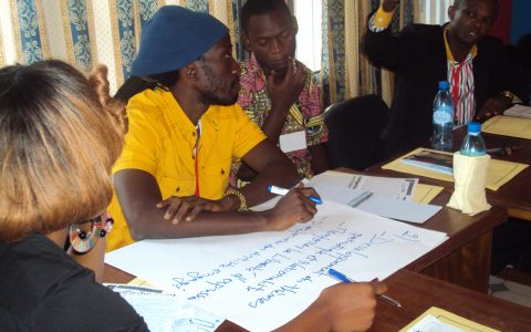 Atelier pour les jeunes de la RDC - Carissa Look
